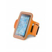 Suport telefon pentru brat Everestus STT173 softshell portocaliu laveta inclusa