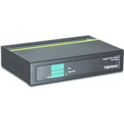 Trendnet TPE-TG50g Gigabit Ethernet (10/100/1000) Nero Supporto Power over Ethernet (PoE)