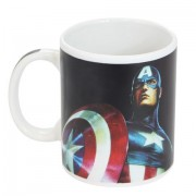 Caneca Zona Criativa -Magic Capitao America