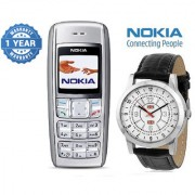 Nokia 1600 / Good Condition/ Certified Pre Owned (1 Year Warranty) with Branded Watch