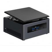 Mini PC Intel® NUC7I3DNH2E cu procesor Intel® Core™ i3-7100U 2.40 GHz, Kaby Lake, 2x DDR4 32GB max, M.2 SSD, HDD 2.5 inch, Wi-Fi, Bluetooth, HDMI, Bulk