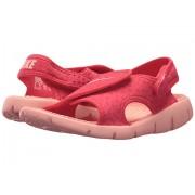 Nike Sunray Adjust 4 (Little KidBig Kid) Tropical PinkBleached Coral