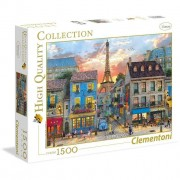Clementoni puzzle 1500 pezzi high quality collection street of paris 31679