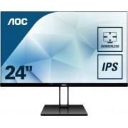 AOC 24V2Q LCD-Monitor (1920 x 1080 Pixel, Full HD, 5 ms Reaktionszeit, 75 Hz), Energieeffizienzklasse A