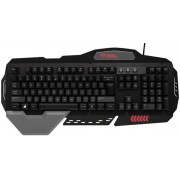 Tastatura Gaming Trust GXT 850 METAL (Neagra)
