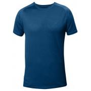 Fjällräven Abisko Trail - T-shirt trekking - uomo - Lake Blue