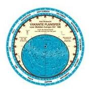 Sterrenkaart - Planisfeer Vakantieplanisfeer Midden-Europa (50°NB) | Walrecht