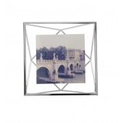 Umbra fotolijst Prisma voor 10 x 10 cm - Chroom