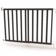 Noma Extending Safety Gate 63.5-106 cm Wood Grey 94146