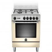 La Germania Amn604gevscre Cucina 60x60 4 Fuochi A Gas Forno Gas Ventilato Con Gr