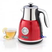 Klarstein Cancan, ceainic, design retro, 1.6L, 1800-2150 w, bază la 360 °, roșu (KTL3-Cancan Red)