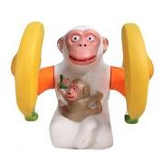 Banana Monkey Orangutan Musical light jumping skipping Funny Gift toy for Kids