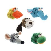 MULTIPET INTERNATIONAL Rope Head Dog Toy
