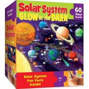 MasterPieces Explorer Kids - Solar System - Glow in The Dark - 60 Piece Kids Puzzle