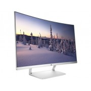 "HP 27 Curved VA LED Backlit Monitor 27"" Silver White/1920x1080/2Y (Z4N74AA)"