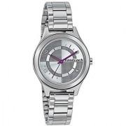 Fastrack Quartz Silver Dial Women Watch-6152SM01