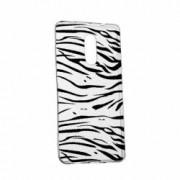 Husa Silicon Transparent Slim Zebra 134 Sony XZ2