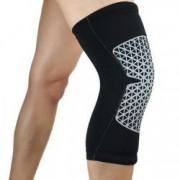 Genunchiera elastica orteza genunchi compresie recuperare si exercitii fizice marimea XL negru FMD201