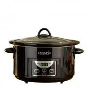 Crock-Pot Slowcooker med timer 4,7 L Svart