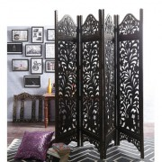 Shilpi Mango Wood Partition Screen Room Divider NSHC0301
