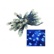 NTR LEDS03BL Kék LED füzér 50xDIP LED 6V DC 3m