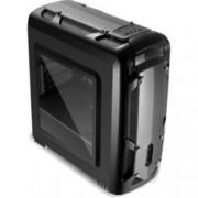Кутия Segotep Polar Light, microATX, Mini-ITX, 1x USB 3.0, черна, без захранване