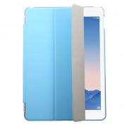 Blauwe smartcase tri-fold hoes voor de iPad Air 2 hardcase