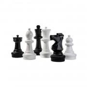 Rolly Toys schaakspel klein zwart/wit 31 cm