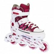 Tempish Rebel PP Inline Skates meisjes rood/wit maat 29/32
