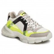 Сникърси BRONX - 66295-BV Off White/N.Yellow/Black 3330