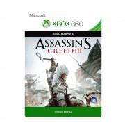 xbox 360 assassin's creed iii digital