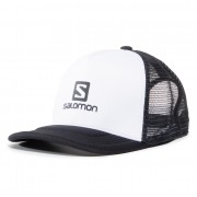 Шапка с козирка SALOMON - Summer Logo Cap M LC1316400 10 G0 White/Black