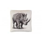 KM Matt- & Textilgrossisten AZTEK Kudde Noshörning