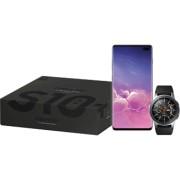 SAMSUNG Galaxy S10 Plus Ceramic Zwart 1TB Pack