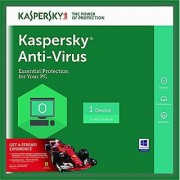 Kaspersky Anti-Virus - 1 PC 1 Year (E-mail Delivery) 2018