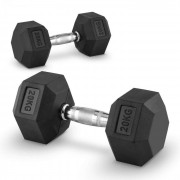 Capital Sports Hexbell 20 Dumbbell, чифт гири за една ръка, 20 кг (PL-8382-8382)