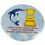 Insigna Campionatul European Copii si Juniori Mamaia 2017