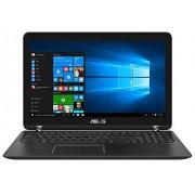 """Asus Q524UQ-BI7T20 laptop Negro Híbrido (2-en-1) 39.6 cm (15.6"""") 1920 x 1080 Pixeles Pantalla táctil 2.70 GHz Intel Core i7 de la séptima generación i7-7500U Ordenador portátil (Intel Core i7 de la séptima generación, 2.70 GHz, 39.6 cm (15.6""""), 1920 x 108"""