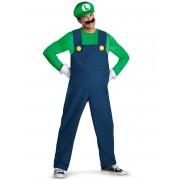 Vegaoo Makeraddräkt Luigi Lyx för vuxna M