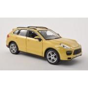 Porsche Cayenne (92A) Turbo, dark yellow , Model Car, Ready-made, Bburago 1:24