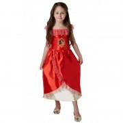 Costum Elena Avalor, varsta 3-4 ani, marime S, Rosu