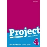 OXFORD Project 4 Teacher´s Book (3rd) - Tom Hutchinson