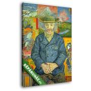Vincent Van Gogh: Tanguy apó (20x25 cm, Vászonkép )