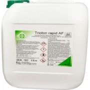 Dezinfectant pentru suprafete Trioton concentrat la bidon 5 litri dilutie 1ml la 200 ml apa avizat de Ministerul Sanatatii