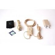 Microcasca neagra + bluetooth receiver