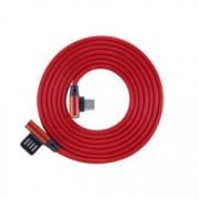 Sbox Cavo USB Angolato 90° USB A/USB-C 1.5m Rosso