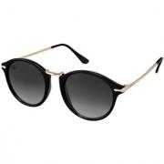 Walrus Toys Black UV Protection Oval Unisex Sunglasses