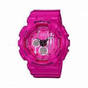 casio baby-g BA-120SP-4A 100m reloj digital analogico impermeable para mujer reloj deportivo con correa de resina-negro