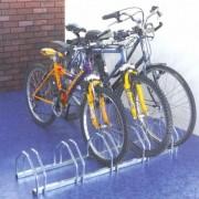 ProSignalisation Râtelier au sol pour vélos en face à face