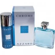 Azzaro Chrome Комплект (EDT 100ml + Deo Spray 150ml) за Мъже